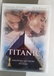 DVD Film Titanic Di Caprio