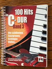 Noten - 100 Hits in C-Dur