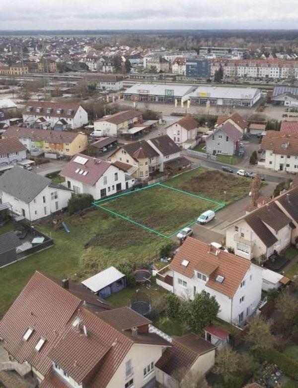 Provisionsfrei Erschlossener Bauplatz in Graben-Neudorf
