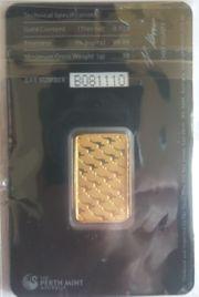 Känguru Goldbarren der Perth Mint