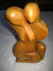 Paar Holz 20x11 cm Holzfigur