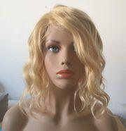 Perücke Human Hair Echthaar Brazilian