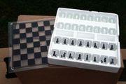 Glas Schach Trinkspiel Schachspiel K20