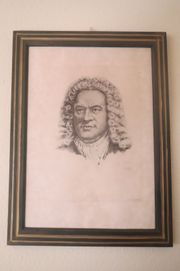 Lithografie auf Bütten J S