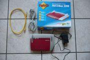 FritzBox 3390 TOP OVP Gar