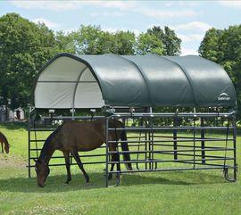 Pferdeboxen, Stellplätze - Weidezelt Aufsatz auf Panel nur