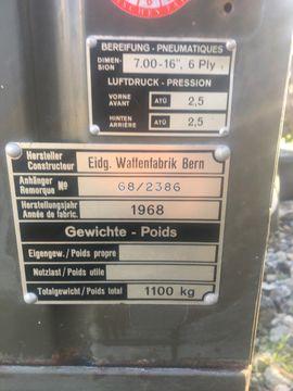 Bild 4 - schweizer armee anhänger - Lauterach