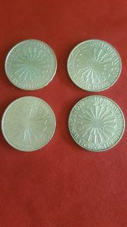 Silbermünzen Olympia 1972
