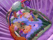 Krabbeldecke mit Spielbogen Erlebnisdecke von