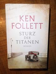 Buch Roman Ken Follett Sturz