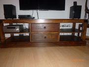 TV-Lowboard massives Holz evntl Akazie