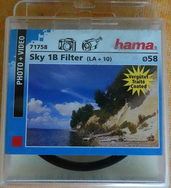 Hama Sky 1B Filter M58