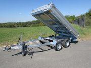 Humbaur 2700 kg Rückwärtskipper HUK