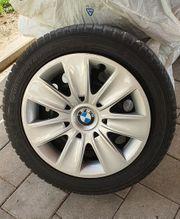 BMW Winterreifen Falken auf Stahlfelge