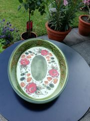 SCHRAMBERG Keramik handbemalt TIROL