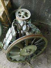 Druckluft kompressor mit elektromotor