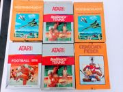 Atari 2600 Spiele OVP Sammlung