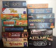 Viele Spiele auch Kickstarter Preise
