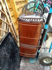Alter Holz- Ölofen zu verschenken