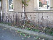 antiker Eisen Zaun 20 m