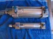 Pneumatikzylinder Bosch und SMC