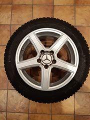4 Alu Winterräder Mercedes