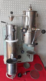 sehr alte BREMER Kaffeemaschine - Speicherfund -