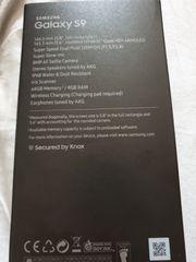 Verpacktes Samsung s9