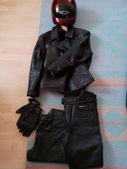 Motorrad Damen Lederbekleidung