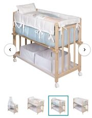Beistell-Bett von Roba