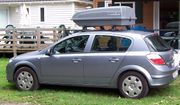 Dachträger mit Box Opel Astra