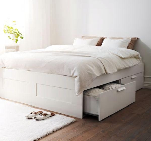 Bett mit Schubladen weiss in Frankfurt - Betten kaufen und ...