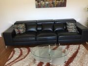 Echtes Leder Luxus Design Sofa