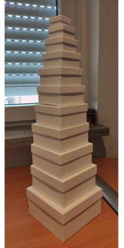 Geschenk Boxen Pyramide 11 Stück
