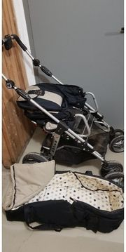 Kinderwagen Hartan Racer mit Babytrage