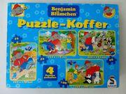Benjamin Blümchen Puzzle-Koffer von Schmidt