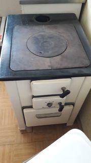 Omas Alter Holz Kohle Küchenherd
