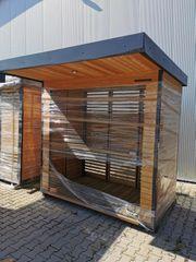 Verkaufsautomaten Hütte als B-Ware mit
