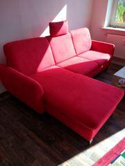 Couch und TV Element Ausstellungsware