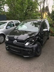 Unfall VW high up