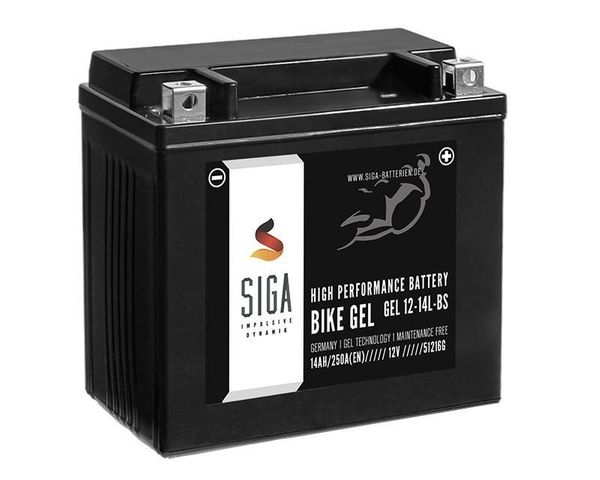 SIGA Bike GEL Motorrad Batterie