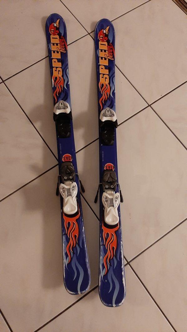 Kinderski, 120 cm, SpeedFever mit Markerbindung zu verkaufen