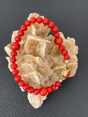 Antikes Korallen Armband mit 750