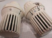 Thermostatkopf Oventrop weiß Uni XD