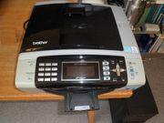 Gebr Farb-Drucker Brother MFC-490CW mit