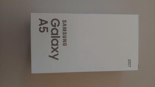 Samsung Galaxy A5 2017 Smartphone schwarz