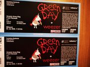 2x Tickets Green Day Sitz