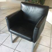 2 xLedersessel 2 x Stühle