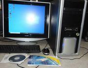 komplett PC-System mit WIN 10