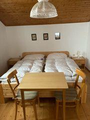 Doppelbett Einzelbett Vollholz
